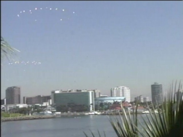 UFO Sighting of Fleet By Wedding Photographer at Long Beach, California Sept 4, 2010, Video & Photos 1/3