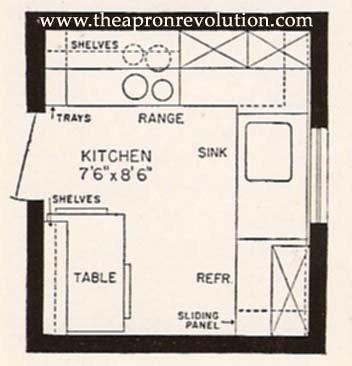 EA small kitchen floorbplan