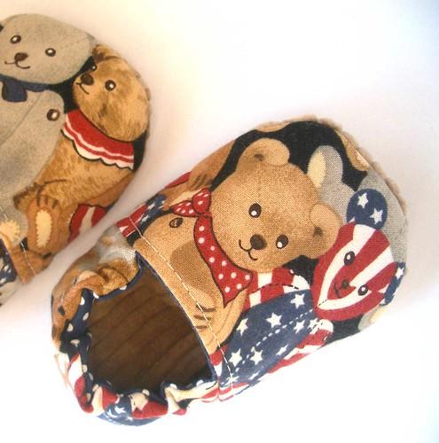 Teddy Bear Baby Shoes