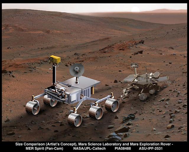 mars rover size - photo #26