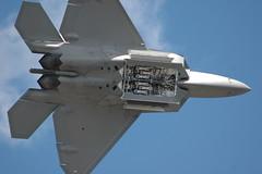 aerospace engineering, lockheed martin f-22 raptor, aviation, airplane, wing, vehicle, fighter aircraft, jet aircraft, flight, aircraft engine, air force,