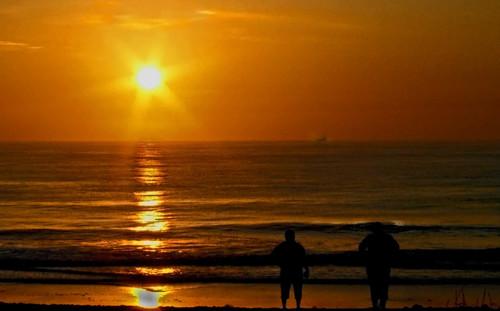 sea reflection beach silhouette sunrise star florida impressedbeauty aplusphoto