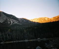 Sunrise over Katahdin from Chimney Pond