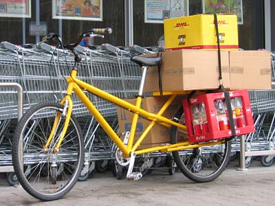 Utility Bicycle for Shopping