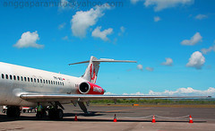 airline, aviation, airliner, airplane, vehicle, mcdonnell douglas dc-9, air travel, mcdonnell douglas md-80, tarmac, jet aircraft,