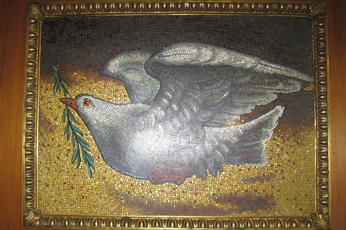 Dove of Peace presented to the United Nations by Pope John Paul II