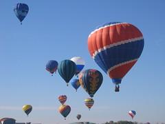 Denver Broncos hot air balloon
