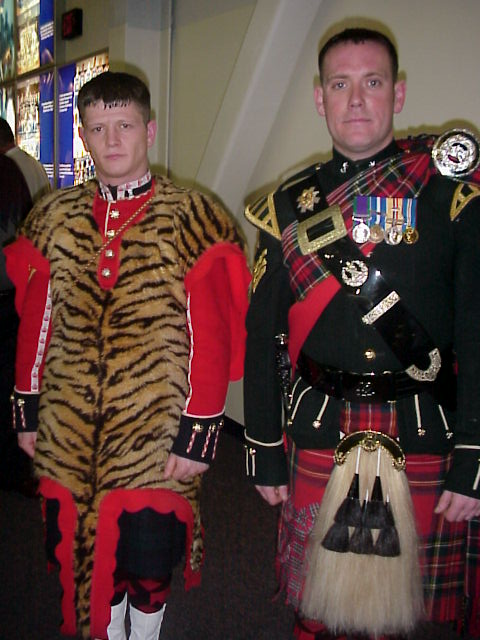 Black Watch and Welsh Guards Concert February 21, 2006