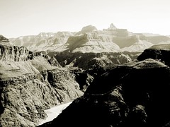 Colorado River from Plateau Point, Grand Canyon NP, Arizona