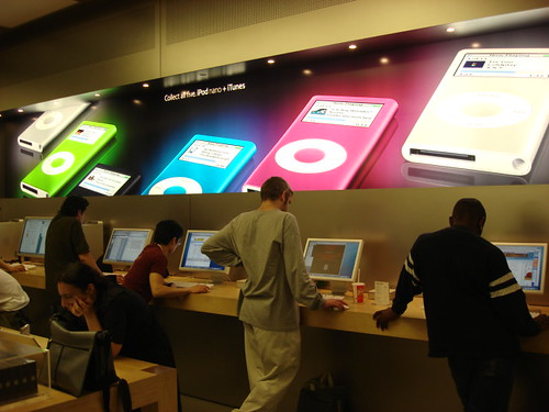 Apple stores in the us