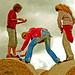 Globalisation on hay