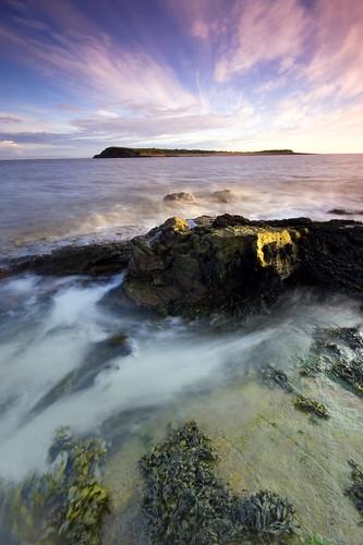 longexposure sunset sea beach rock wales geotagged wave explore shore sully penarth wispyclouds stevecastle sullyisland isawyoufirst diamondclassphotographer flickrdiamond geo:lat=51399313 geo:lon=3194232