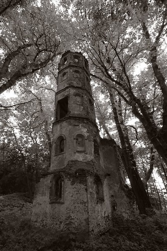 blog kirche ruine stgeorg kirchturm blumenthal aichach monochromia turmruine