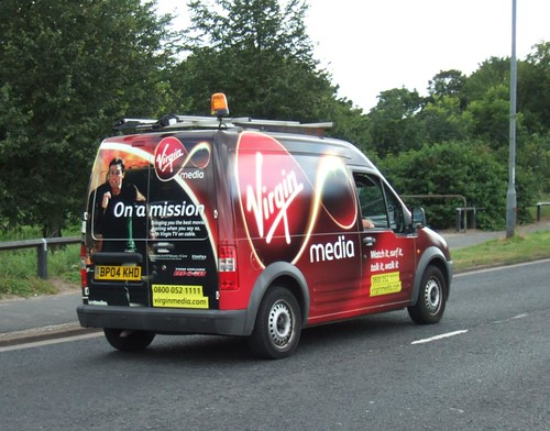Virgin Media van