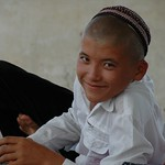 Boy with a Shaved Head - Paraw Bibi, Turkmenistan