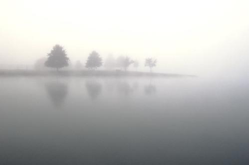 lake fog sunrise nikond50 foggymorning columbiamissouri twinlakespark nikkor24mmf28
