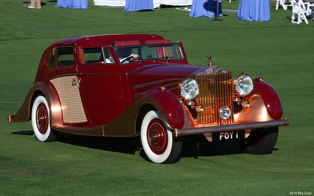 1937 Rolls-Royce Phantom III Sedanca de Ville - 103CP38 - fvr