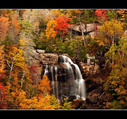color jeff leaves landscape waterfall whitewater north falls carolina jlmphoto tpslandscape milsteen