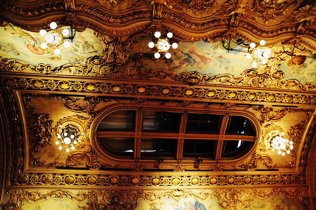 Ceiling Lights Blackpool : The tower ballroom ceiling blackpool  a photo