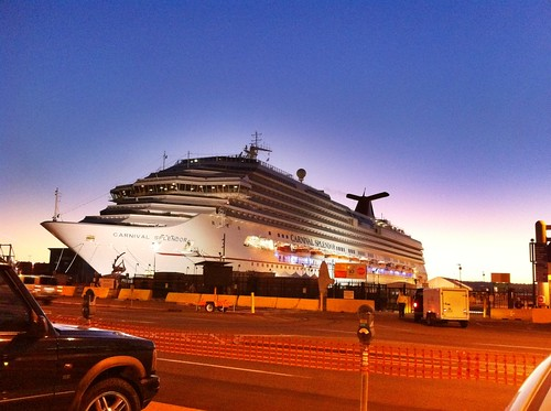 Carnival Cruise Ship Splendor Arrives at Port of San Diego
