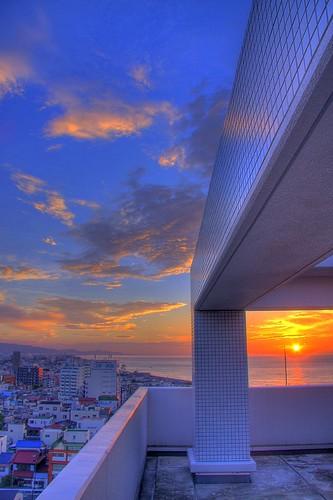 japan sunrise odawara kanagawa hdr picnik photomatix interestingness438 i500 diamondclassphotographer