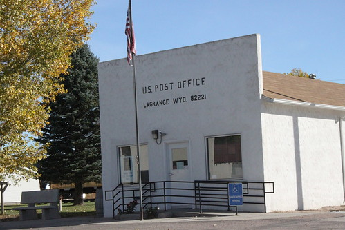 The LaGrange, Wyoming World Postal Headquaters