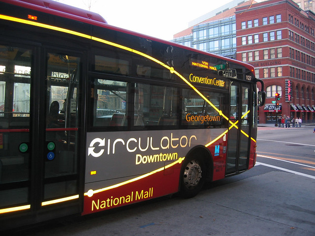 The DC Circulator bus (by: Adam Fagen, creative commons)