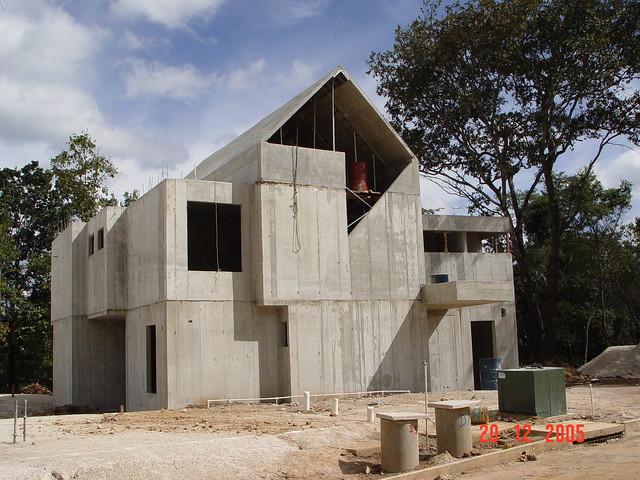 Concrete Home Construction In Guatemala Rapid
