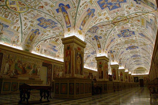 Roma - Musei Vaticani - 29.12.2003