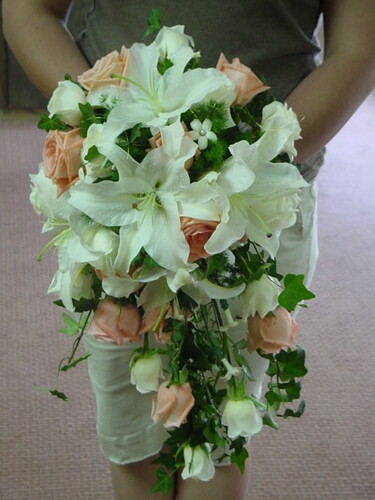 Christina 39s Greek wedding had flowers to match the beautiful decor at the