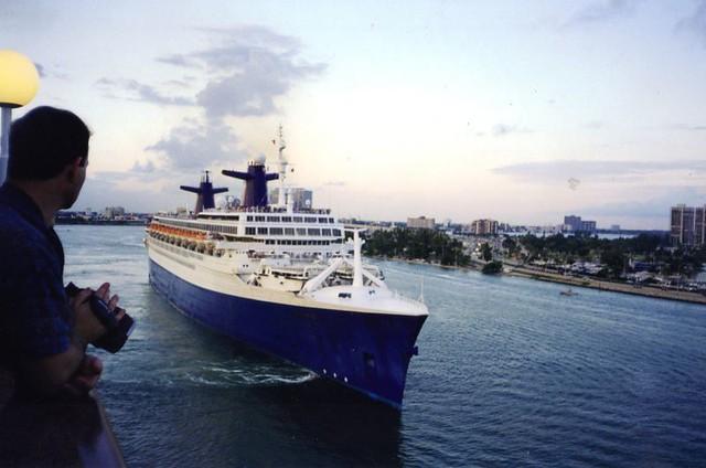 Cruise Ship At Miami  Flickr  Photo Sharing