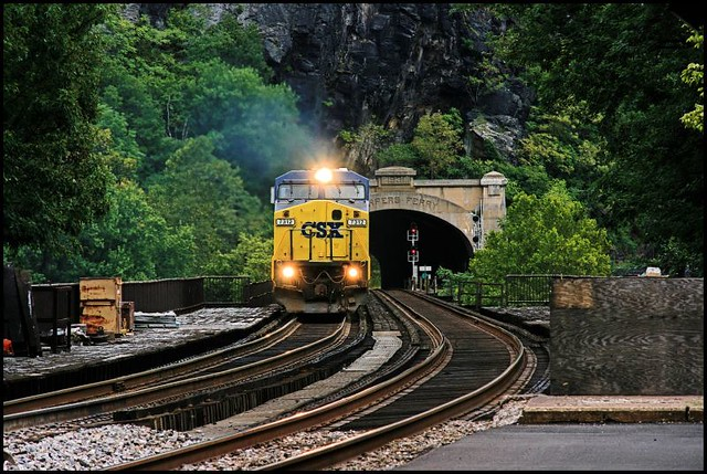 Freight Through Harpers Ferry | Led by CSX 7312. | Google ...