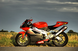 Motorcycle: Aprilia RSV in repose