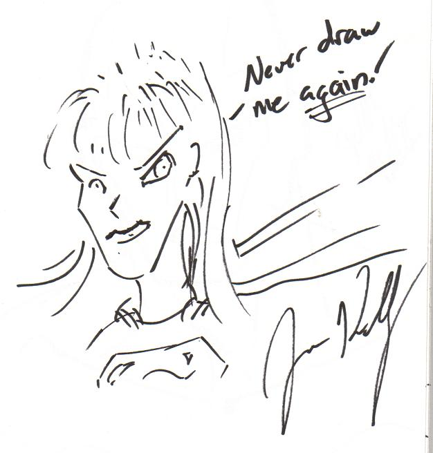 Supergirl by Joe Kelly (New York Comic Con 2007)