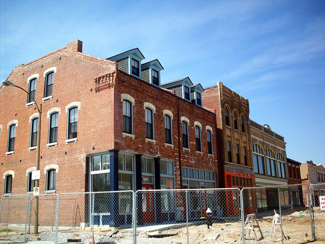 Old North St Louis, undergoing restoration in 2010 (courtesy of ONSL Restoration Group)