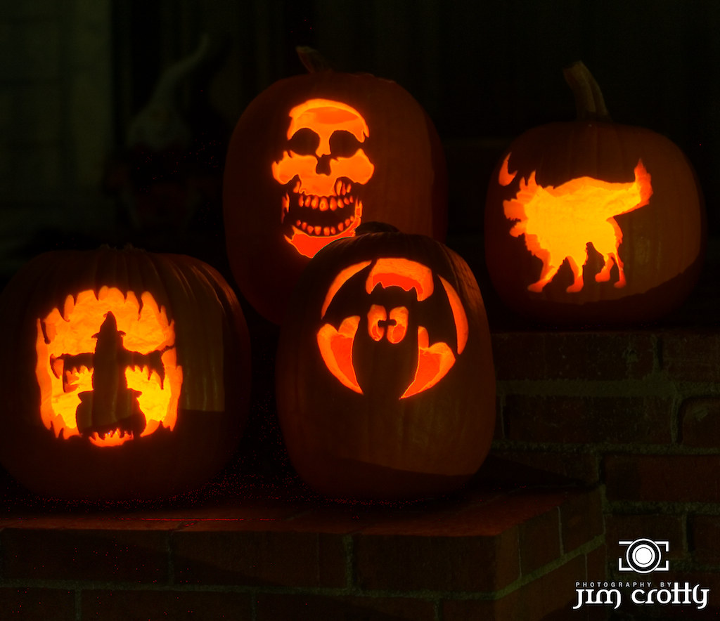 Halloween Pumpkins by Jim Crotty