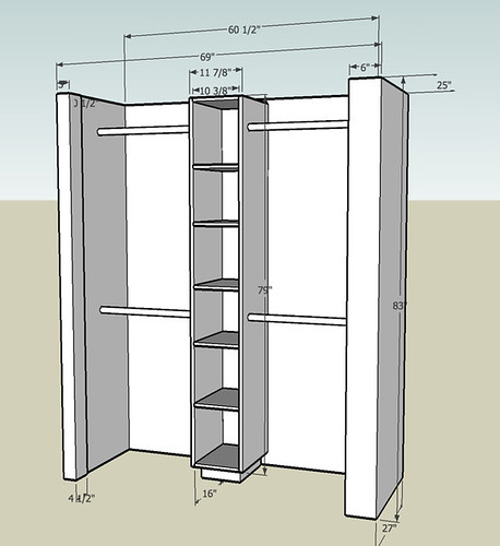 Plans To Make A Wardrobe ~ Closet rebuild done by jeff lumberjocks