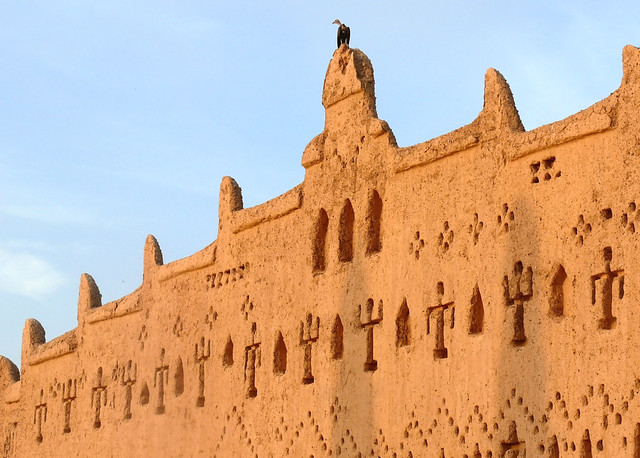 Mosques at Bani, Burkina Faso
