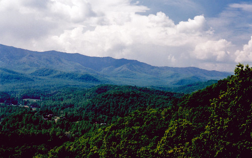 mountains tennessee smokymountains greatsmokymountainsnationalpark unesco worldheritagesite landscape scenery foothillsparkway nikon film fm10