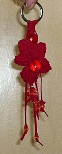 Portachiavi a fiore by brip72