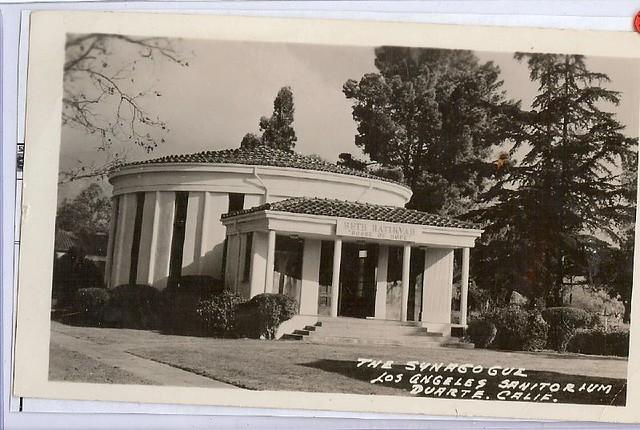 U.S. Duarte California Synagogue Jewish scan3959