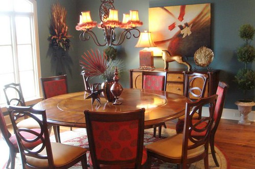 Rustic Chic Dining Room Chairs