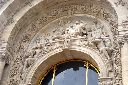Paris les jardins des champs elys es petite palais la for Les jardins de la ville paris