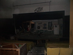 Stage at Abandoned Theater