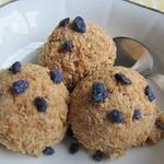 Eiscreme Rezepte ©Broteis mit kandierten Veilchen