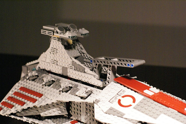 lego star wars venator class republic attack cruiser instructions