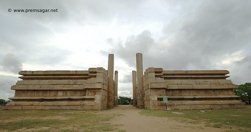 Raya Gopura at Melkote