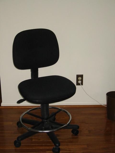high rolling desk chair