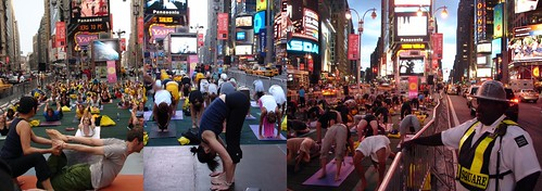 Yoga in the New York Minute