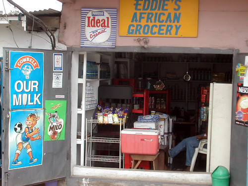 Containers: Eddie's African Grocery